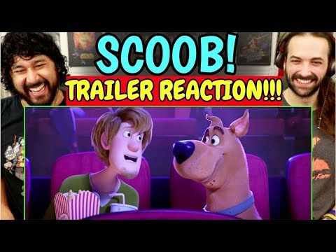 SCOOB! Teaser TRAILER - REACTION!!!