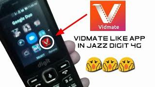 Download Jazz digit 4G vidmate like app opening | vidmate like app in jazz digit 4g