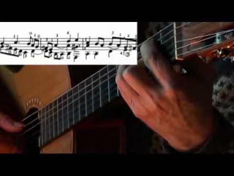 Fantasia No.30 - Francesco da Milano, Guitar arrangement.