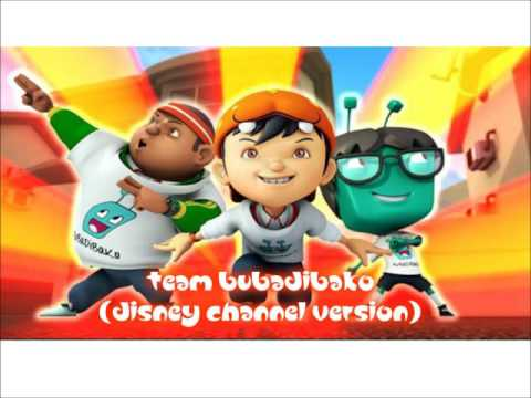 BoBoiBoy | Team BuBaDiBaKo (Disney Channel Version) | Official Audio