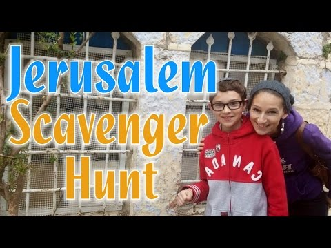 JERUSALEM SCAVENGER HUNT! (Vlog 6x22)
