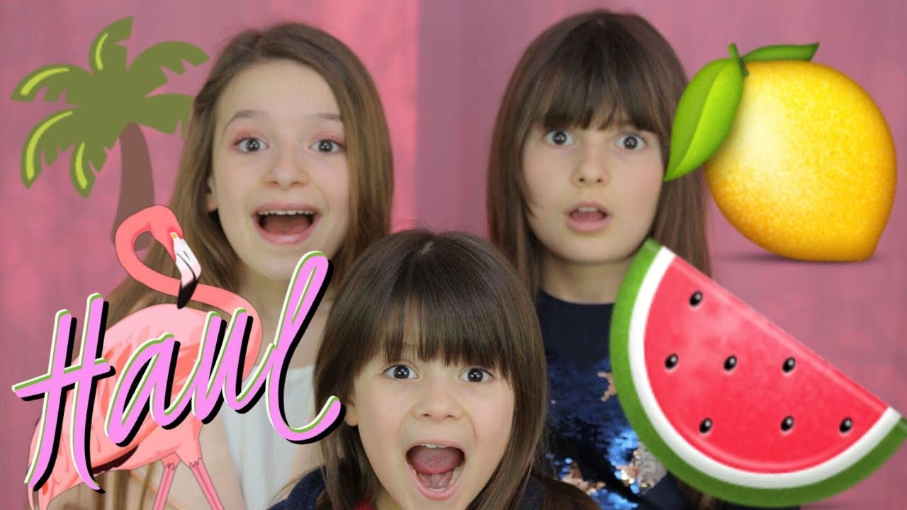 MON MÉGA HAUL D'ÉTÉ !!! SUMMER TROPICAL - Je craque pour des couleurs acidulées ! // Lévanah&Family