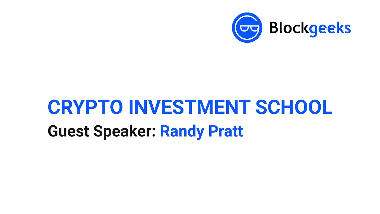 Crypto Investment School Clip: Technical Analysis Strategy pt. 2 with Randy Pratt