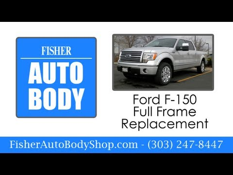 F-150 Full Frame Replacement | Fisher Auto Body Shop | Boulder, Colorado