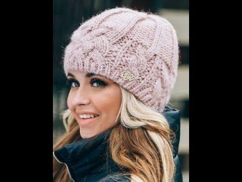 Связать Шапку Спицами - модели - 2019 / Knit A Cap With Knitting Needles