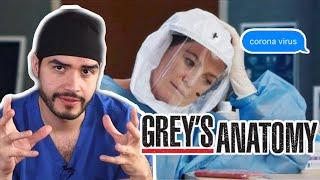 DOCTOR REACCIONA A GREYS ANATOMY | CAPÍTULO COVID | DOCTOR VIC
