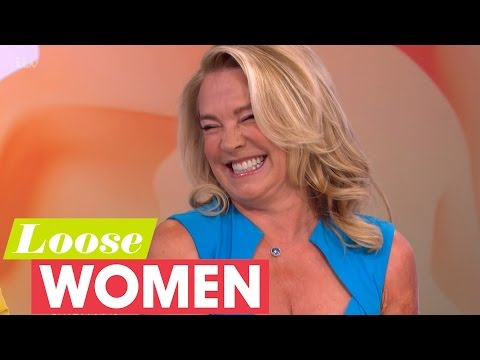 Amanda Redman On Kissing Ray Winstone  Loose Women