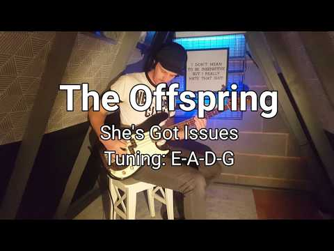The Offspring - She's Got Issues bass cover (with tab)