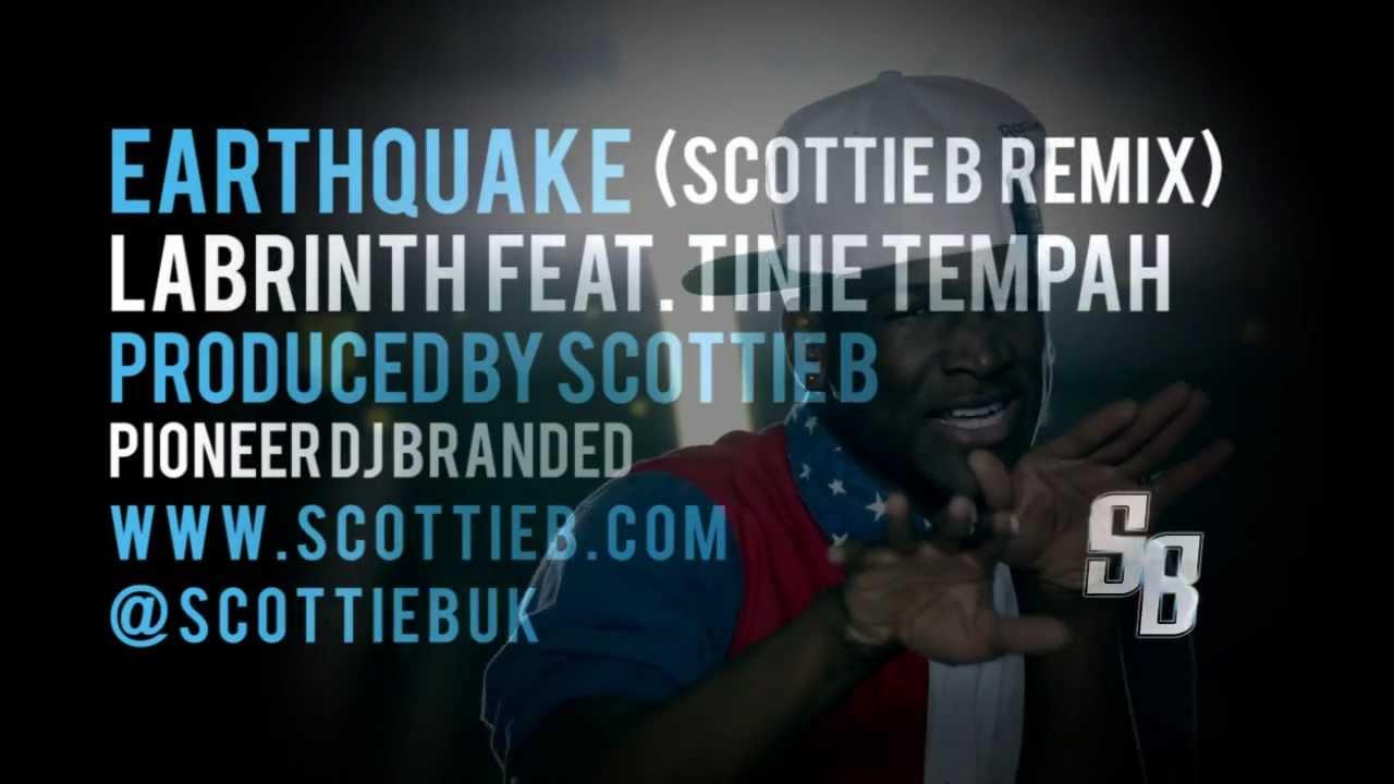 Download Labrinth [@Labrinthda1st] Earthquake ft Tinie Tempah [@TinieTempah] (Scottie B Remix) [@ScottieBUk]