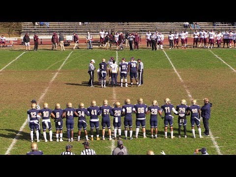 Valley Forge Military College Football vs Thaddeus Stevens College of Technology 11.3.18