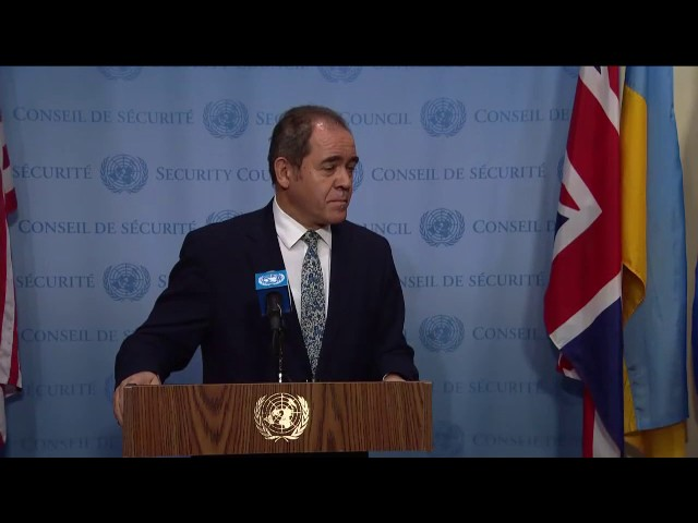 Sabri Boukadoum (Algeria) on the situation concerning Western Sahara - Security Council Media Stakeo