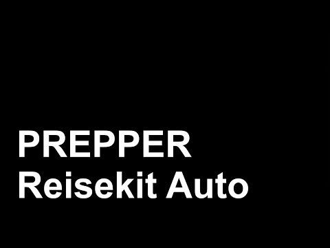 Prepper Reisekit Auto