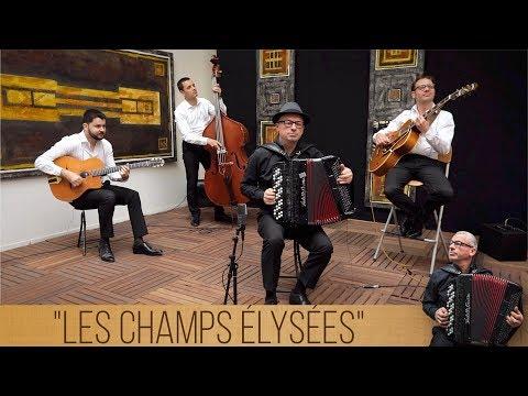 Les Champs Élysées (Joe Dassin) - H2R / Philippe - Quartet jazz manouche avec accordéon