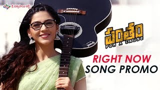 Right Now Video Song Promo | Pantham Movie Songs | Gopichand | Mehreen | Sri Sathya Sai Arts