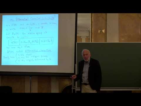 The roots of differential cohomology | James H. Simons | Лекториум