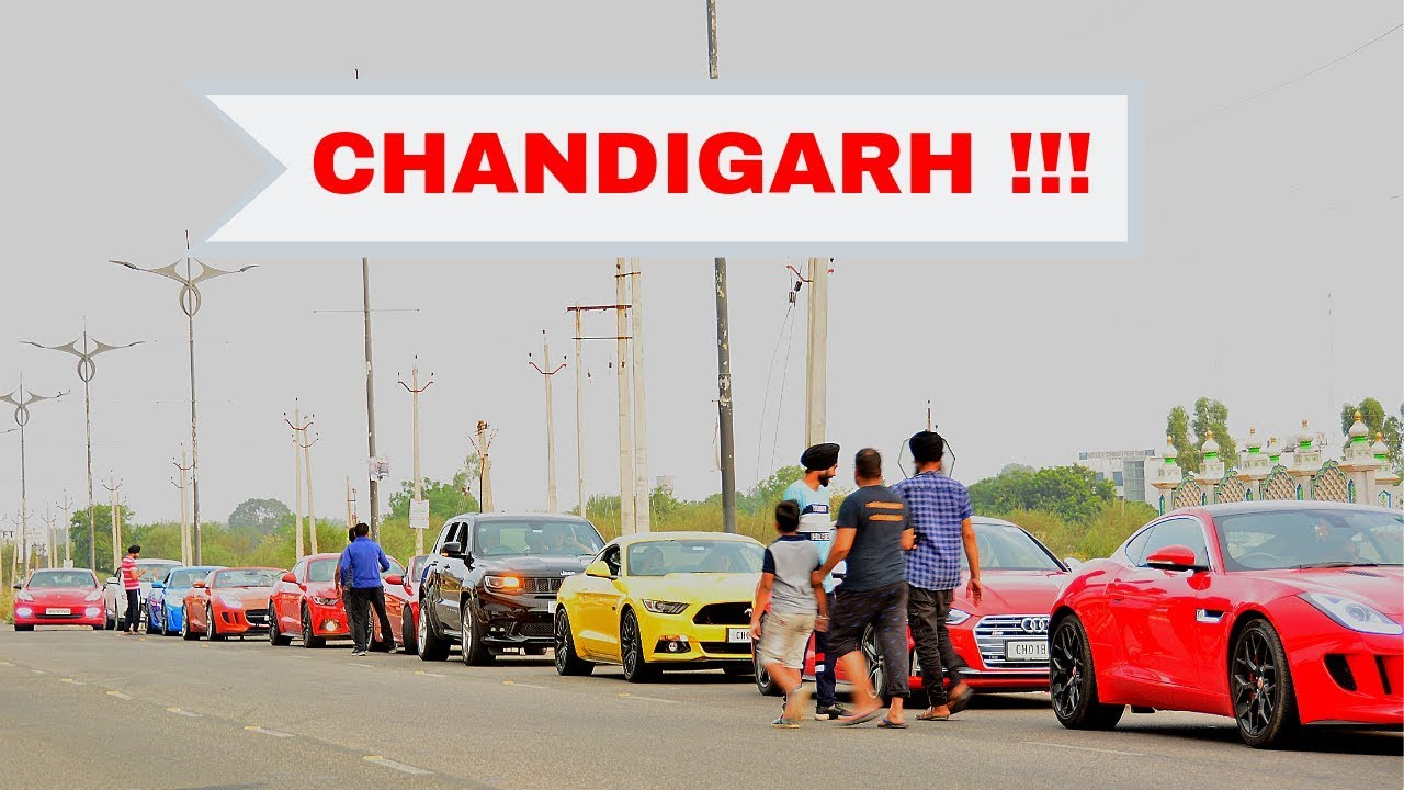 Rich kids taking over Chandigarh streets !!!