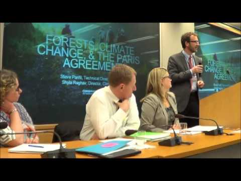 Forests at the World Bank Group in a Post-Paris Agreement World