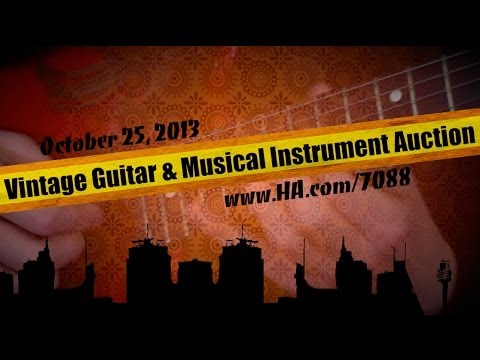 Heritage Auctions (HA.com) -- Guitars & Musical Instruments Signature Auction, October 2013