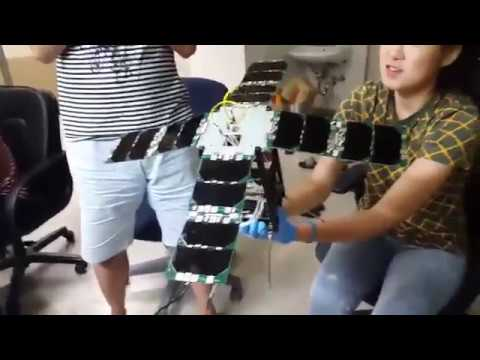 Double Deployable Solar Panel For 2u Cubesat Youtube
