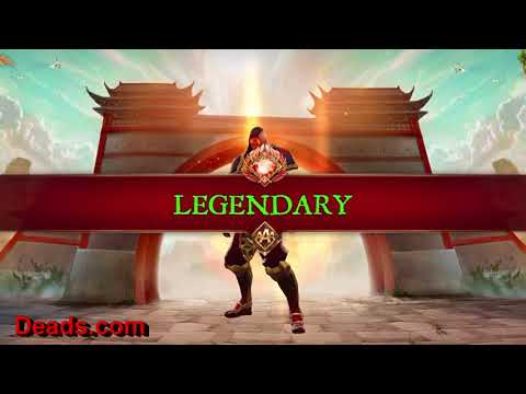 "Dungeon Hunter 5 ""50"" Legendary Chest Opening! All Legendary! Must See! 3/14/2018 By Ettin Deads DH5"