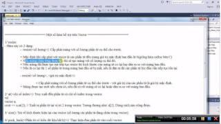 [Lập trình C/C++] Bài 59. Demo các hàm trong vector(Phần 1)