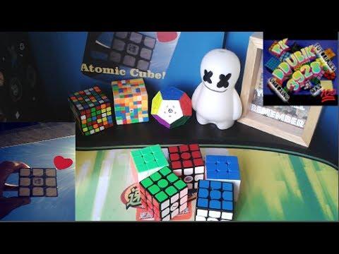 Top 5 Mejores Cubos 3x3(Opinion)/ Colaboracion R'KDDUBIK 3928/Atomic Cube