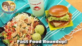 Fast Food Roundup!