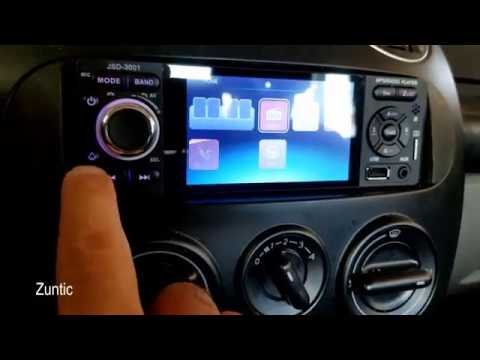 Cheap $36 Single 1 Din Car Radio Video 4'' HD Touch Screen MP5 Player JSD-3001 in vw beetle