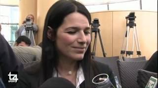 INTERVISTA A SONIA E ALEX DEL PIERO - T4 SPORT 05.09.12