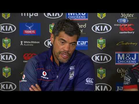 NRL Press Conference: New Zealand Warriors - Round 23