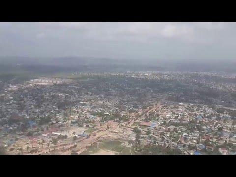 Landing in Dar Es Salaam Julius Nyerere International Airport
