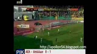 ael vs apollon 14 04 2010 0 1 highlights kipello hmitelikos