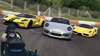Битва суперкаров в онлайне - Project Cars 2