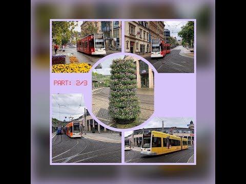 Plauen / Vogtlandkreis and its tram / Germany, May 2017 / Part: 2/3