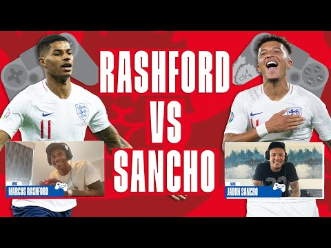 Rashford Vs Sancho The Footballsstayinghome Cup Round Of 16 England Fifa Tournament Youtube