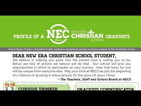 Profile of a New Era Christian School Student