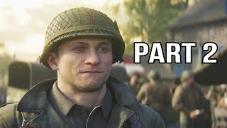 Call of Duty WW2 Gameplay Walkthrough Part 2 - Operation Cobra