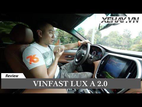 Hùng Lâm đánh Giá ưu/nhược điểm Vinfast Lux A 2.0 Sau Nửa Năm Sử Dụng |XEHAY.VN|