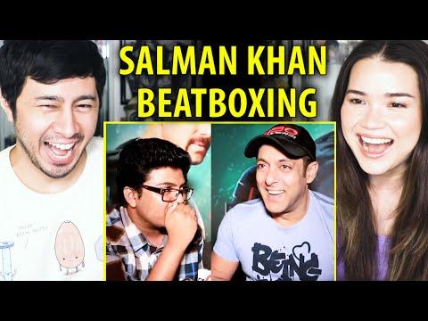 "SALMAN KHAN BEATBOXING | W/ Vineeth ""Beep"" Kumar Of JORDINDIAN | The Beat Route |  Reaction"