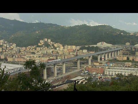 شاهد: في حفل ضخم.. إيطاليا تعيد افتتاح جسر جنوة السريع بعد عامين على انهياره…  - نشر قبل 2 ساعة
