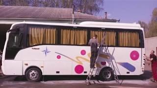 Ремонт кузова автобуса ISUZU