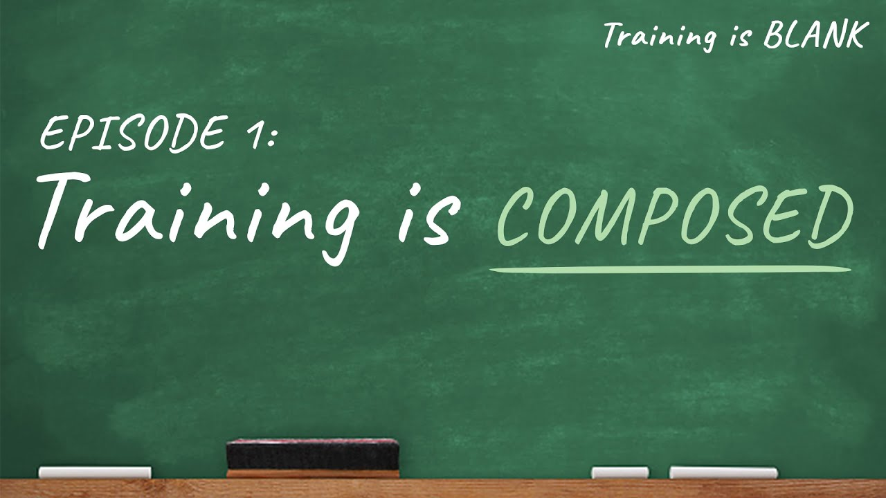 Training is Composed