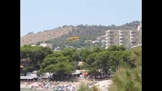 Majorca forest fire July 2013: