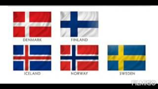 1분영어잡학지식 - 노르웨이, 스웨덴, 핀란드의 국기에…