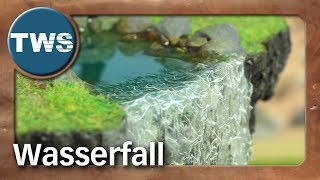 Tutorial: Wasserfall / waterfall (Tabletop-Gelände, TWS)
