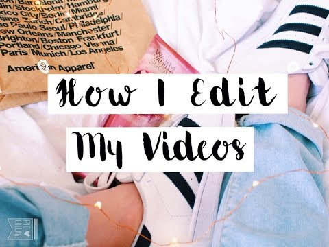 ▲How I Edit My Videos: Greenscreen + Animation▼