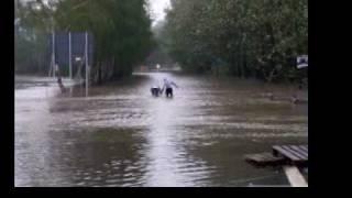 2 . Gliwice-Sośnica , wylała rzeka Kłodnica