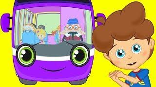 Otobüsün Tekerleği Yuvarlak ve Sevimli Dostlar ile Çizgi Film Çocuk Şarkıları 2017