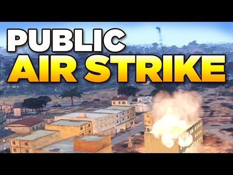 PUBLIC AIR STRIKE - Intense Public Op | ARMA 3 Zeus