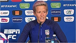 Megan Rapinoe defends White House comments & previews USWNT vs. France | Women's World Cup